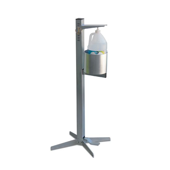 Shield Industrial Hand Sanitizer Stand Image-1